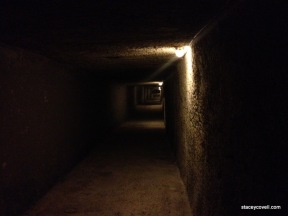 WWII air raid shelter in Mellieha.